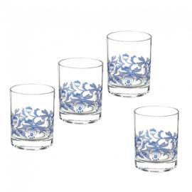 Glas (0,45 l.) - Spode Blue Italian