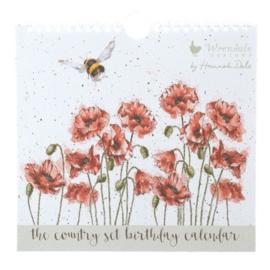 Verjaardagskalender - Wrendale Designs