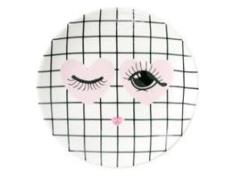 Bordje Heart & Eye (9,5 cm.) - Miss Étoile