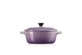 Aardewerken Ovaal Stoofpannetje Ultra Violet (17,4 cm.) - Le Creuset