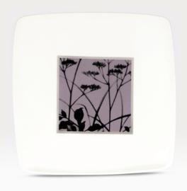 Vierkant Bord (27 cm.) - Noritake Twilight Meadow