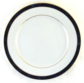 Ontbijtbord (21,2 cm.) - Noritake Legendary Marble Blue Ana