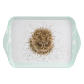 Melamine Dienblaadje Hedgehog (21,2 cm.) - Pimpernel Wrendale