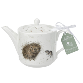 Theepot Hedgehog & Mice (0,6 l.) - Wrendale Designs