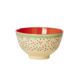 Melamine Schaal Connecting the Dots (11,3 cm.) - Rice