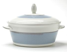 Dekschaal (24 cm.) - Noritake Ambience Blue