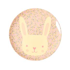 Melamine Bord Bunny - Rice
