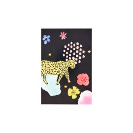 Ansichtkaart Leopard - Rice