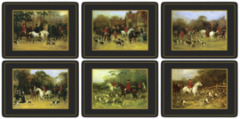 6 Placemats (30,5 cm.) - Pimpernel Tally Ho