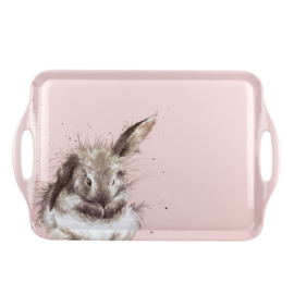 Dienblad Melamine (48 cm.) - Pimpernel Wrendale Rabbit