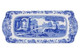 Sandwich Tray Melamine (38,5 cm.) - Pimpernel Blue Italian