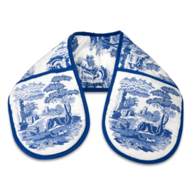 Dubbele Ovenwant - Pimpernel Blue Italian
