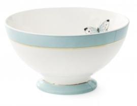 Schaal (18 cm.) Butterfly Blauw (17,5 cm.) - Miss Étoile