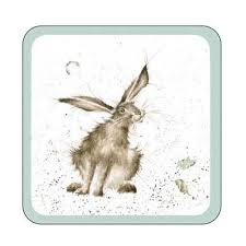 Onderzetters Hare (8) - Pimpernel Wrendale