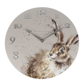 Wandklok Hare - Wrendale Designs