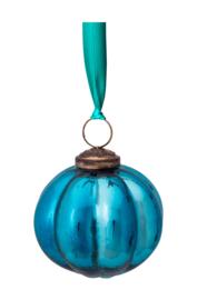 Glazen Ornament Blue (7,5 cm.) - Pip Studio Winter Wonderland
