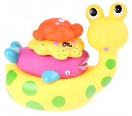4-delige Badspeelgoedset Slak - Eddy Toys
