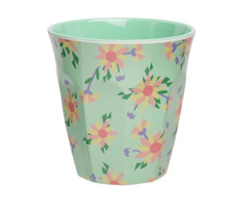 Beker Melamine Full Bloom Mint (200 ml.) - Ginger