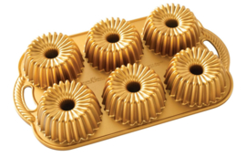 Bundtlette Brilliance Gold Bakvorm - Nordic Ware
