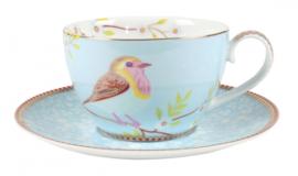 Kop & Schotel Blue (280 ml.) - Pip Studio Early Bird