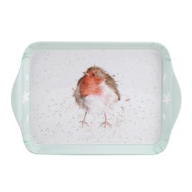 Melamine Dienblaadje Robin (21,2 cm.) - Pimpernel Wrendale