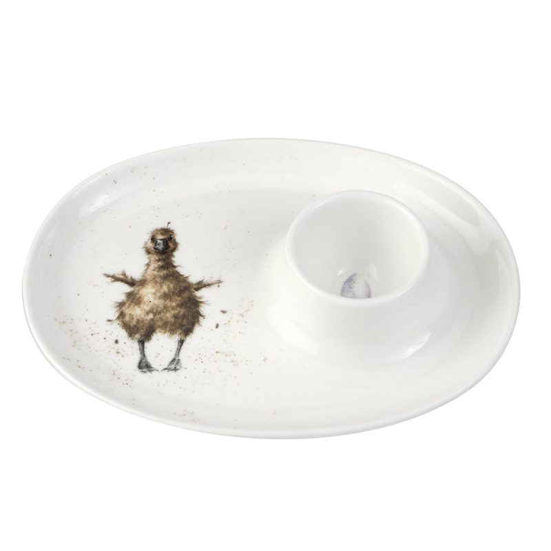 Eierschaaltje Duckling (18 cm.) - Wrendale Designs