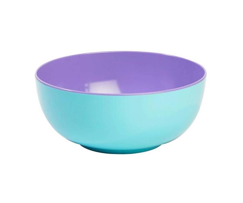 Schaal Melamine Pastel Blue (28 cm.) - Ginger