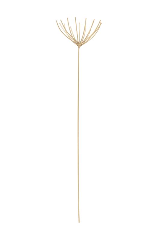 Metalen Decoratietak Papyrus Gold (37 cm.) - vtwonen
