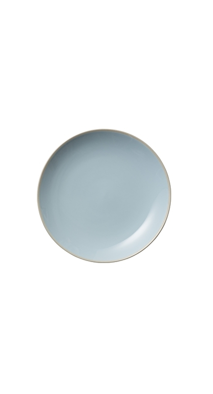 Bord (20 cm.) Licht Blauw Olivia - Bloomingville