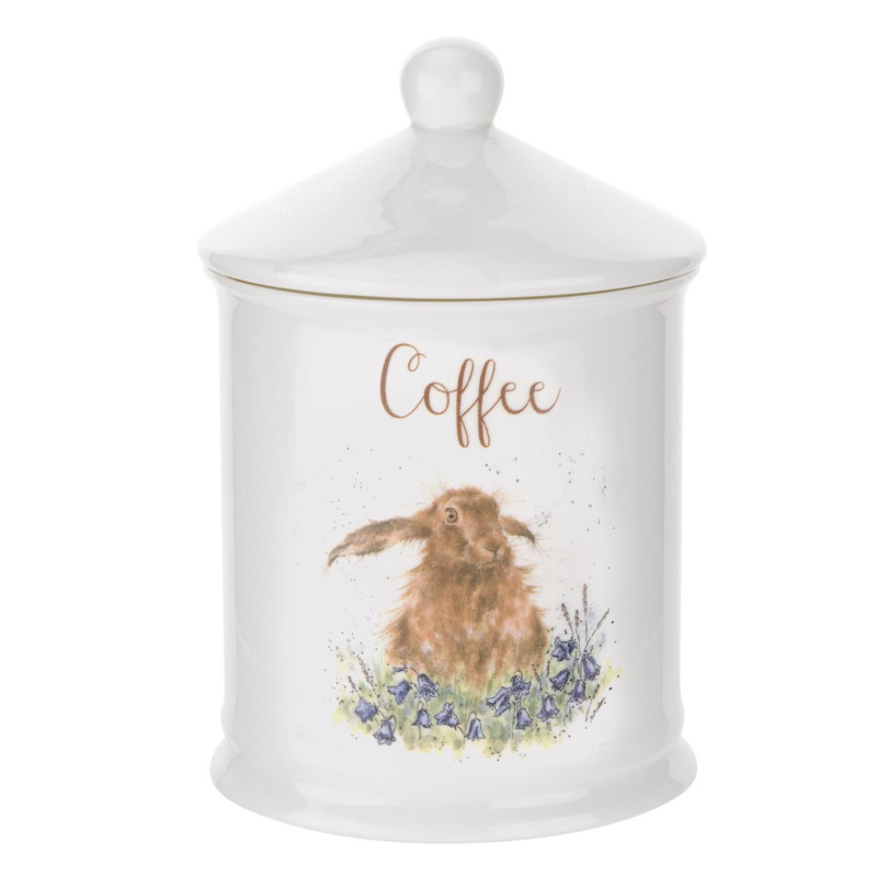 Voorraadpot Coffee Hare - Wrendale Designs