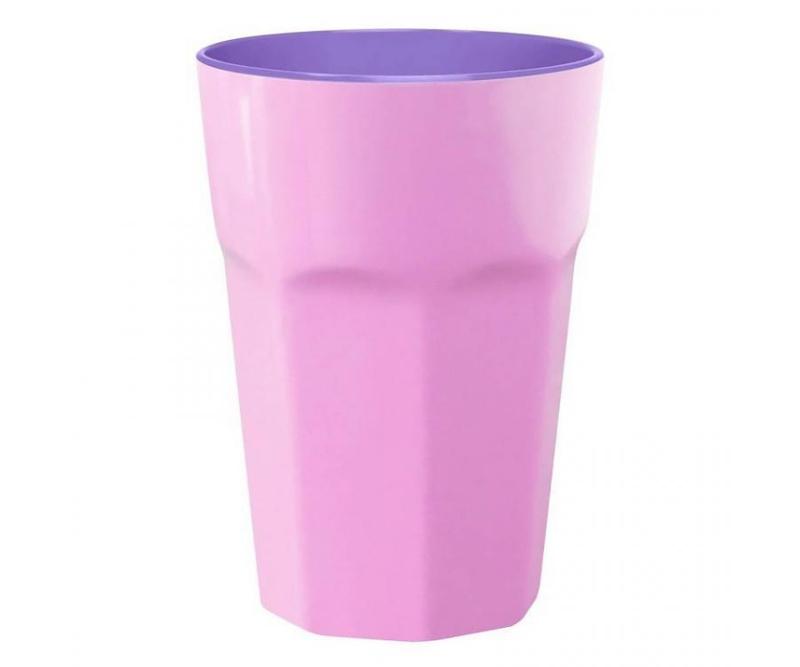 Beker Melamine Pastel Pink (400 ml.) - Ginger