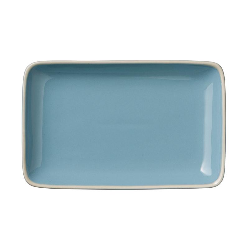 Bord Blauw (19 cm.) Olivia - Bloomingville