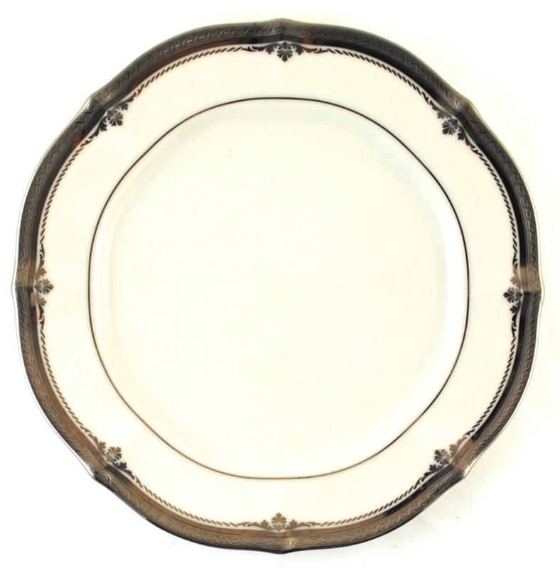 Saladebord (21 cm.) - Noritake Stratford Platinum