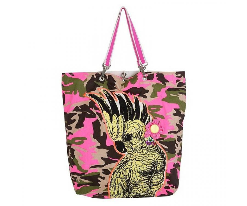 Funky Army Cockatoo Shopper - Ginger