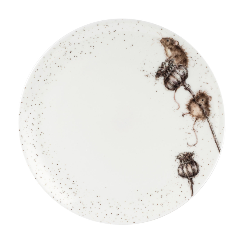 Dinerbord Mice (26,7 cm.) - Wrendale Designs