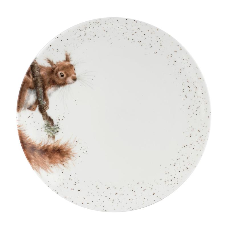 Dinerbord Squirrel (26,7 cm.) - Wrendale Designs