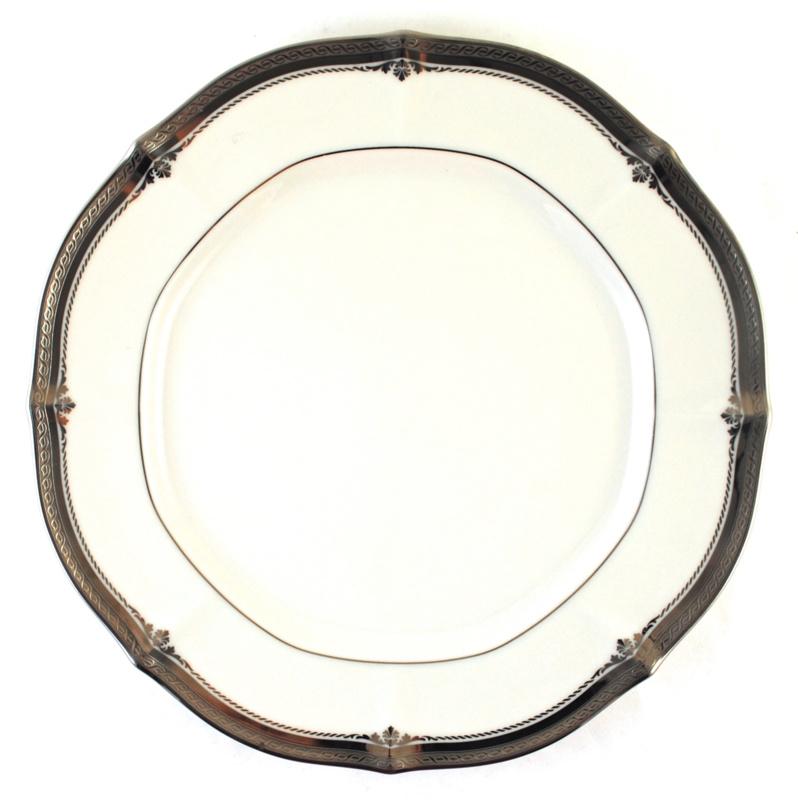 Dinerbord (26,5 cm.) - Noritake Stratford Platinum