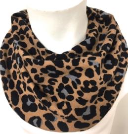 Savlesmæk med leopard brun