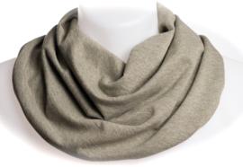 Olivengrønt  meleret tørklæde