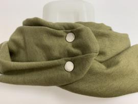 Nyt olivengrønt tørklæde