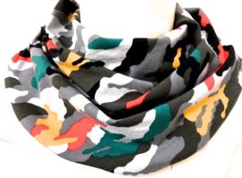 Farverig camouflage
