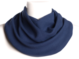 Marineblå savletørklæde