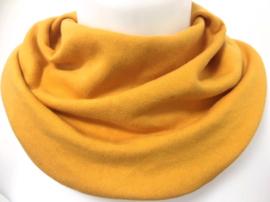 Okkergult  tørklæde