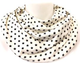 Off-white med sorte stjerner
