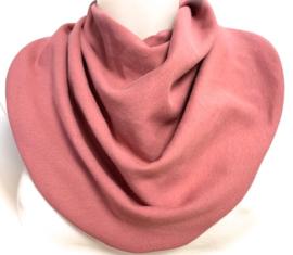 Gammelrosa tørklæde