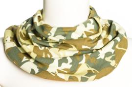 Camouflage savletørklæde