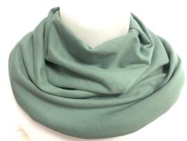 Gammelgrønt tørklæde