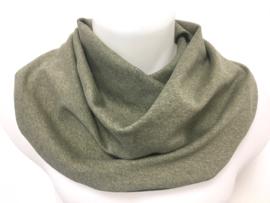 Olivengrønt savletørklæde