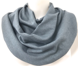 Aquablå  savletørklæde til ældre