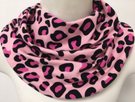 Dyreprint i pink og lyserød